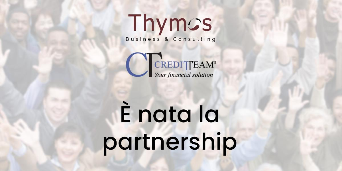 PARTNERSHIP STRATEGICA: Thymos Business & Consulting e Credit Team