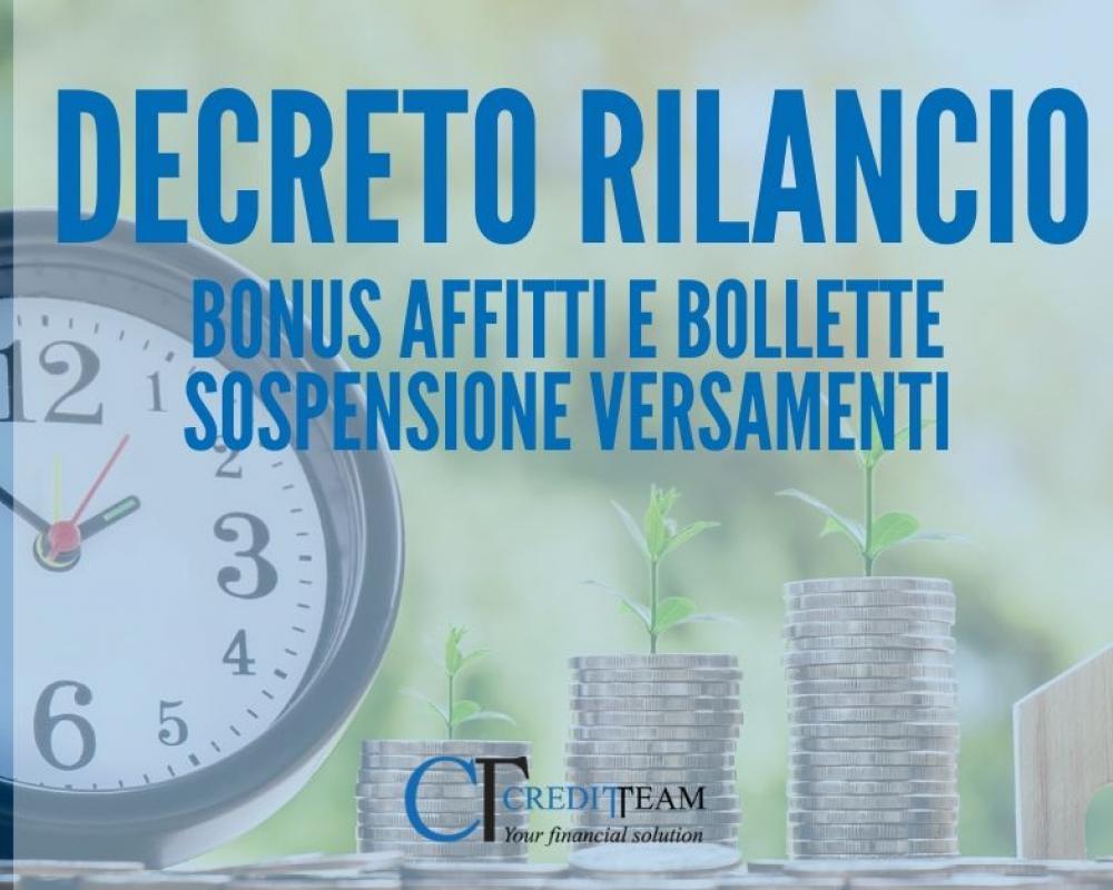 DECRETO RILANCIO: Taglio ad affitti e bollette e rinvio dei versamenti fiscali