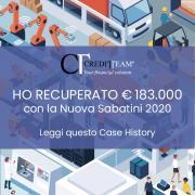 CASE HISTORY: IL BENEFICIO DELLA NUOVA LEGGE SABATINI