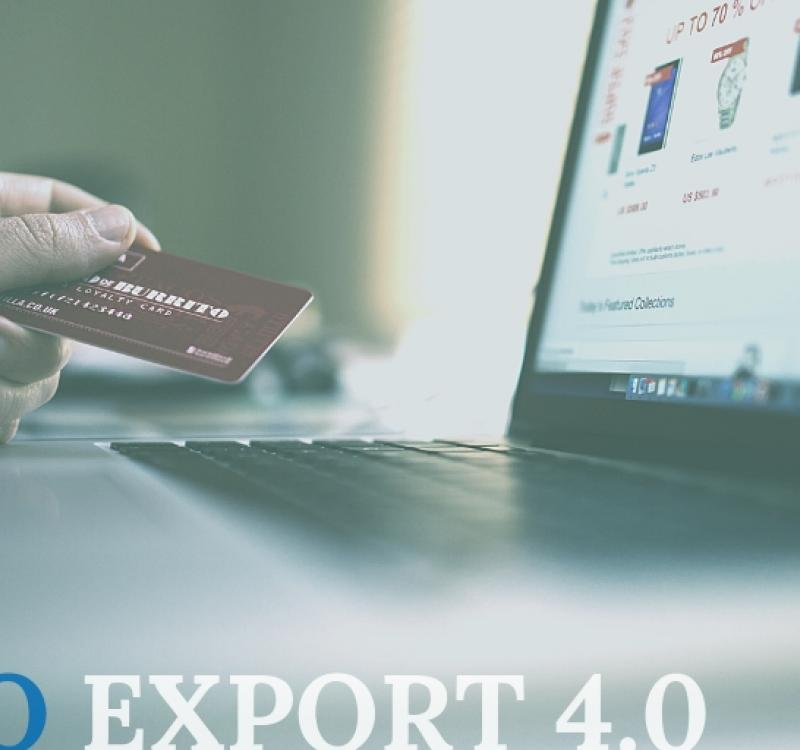 5,5 MLN per Export 4.0